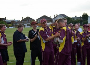 YSPL t20 finals 2017  - 9th July - Winners Sheffield Collegiate