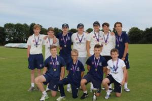 CCC u15 county Cup Champions